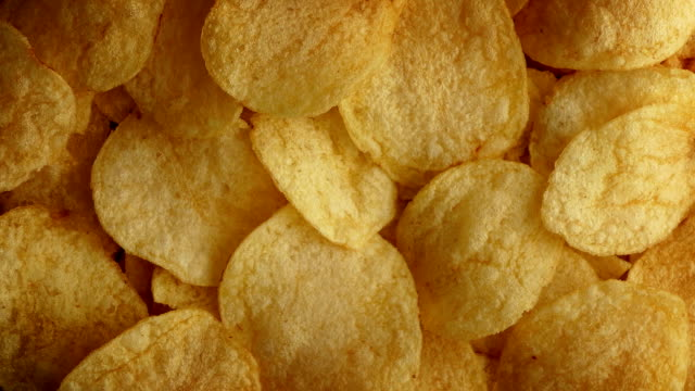 Potato Chips Rotating video