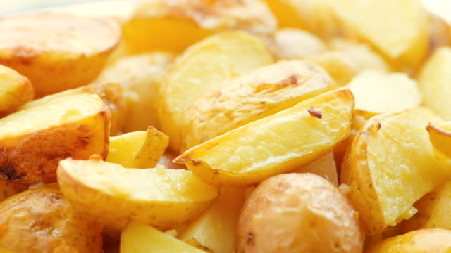 potato slices, baked in the oven video