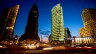 Potsdamer Platz, Berlin - Time Lapse video