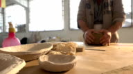 Pottery and Artist video