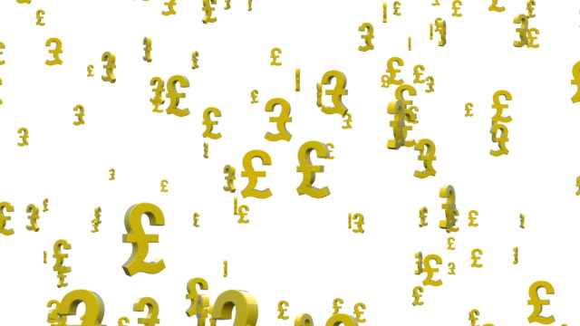 Pound symbols flying video