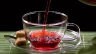 Pouring A Rooibos Tea video