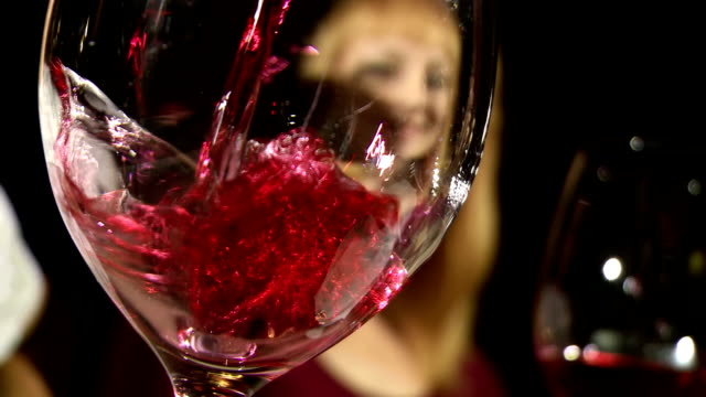 Pouring A Wine video