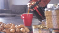 Pouring Coffee from French Press video