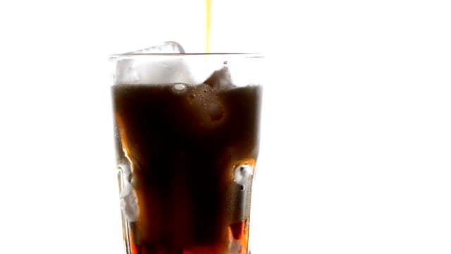 Pouring cola video