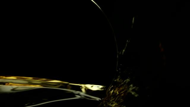 Pouring White Wine video