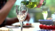 Pouring wine      DR video