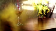 Pouring wine video