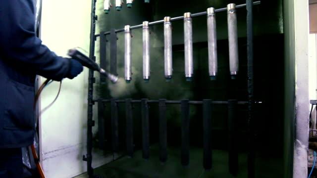 Powder coating video