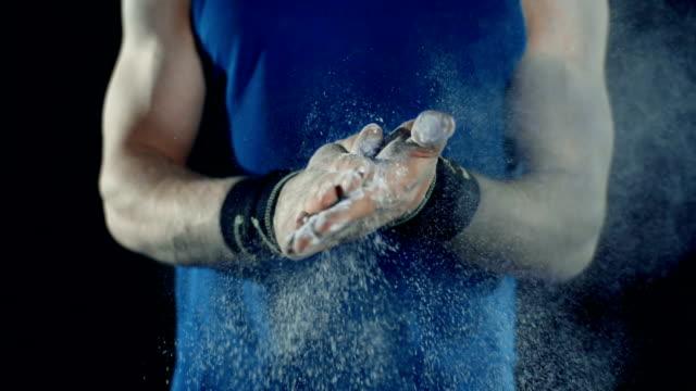 Powdering Hands video