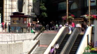 Powell St Cable Car Stop - San Francisco, California video