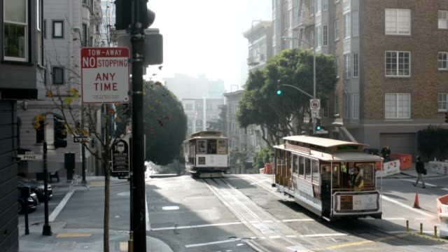 Powell street cable car video