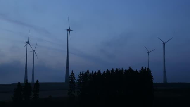 power generating wind turbine video