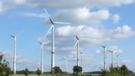 power generating wind turbines video