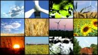 Power Generating Windmills - Montage video
