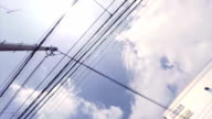 power line - look up at the sky video