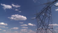 Power line time lapse video