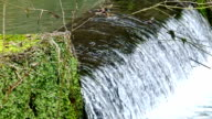 Power of Nature - Magnificent Waterfall in Close up video