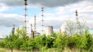 Power Plant 'Leuna' in Leipzig/Germany video