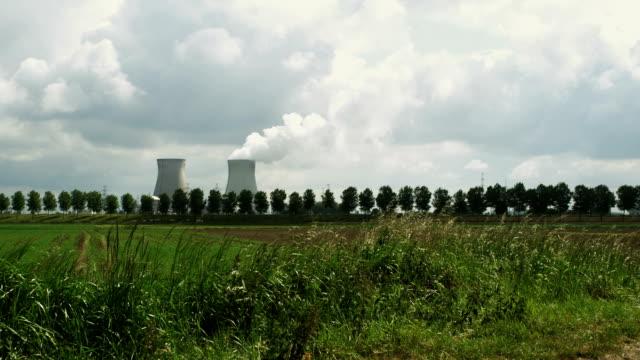 Power plant on the horizon (1080p) video