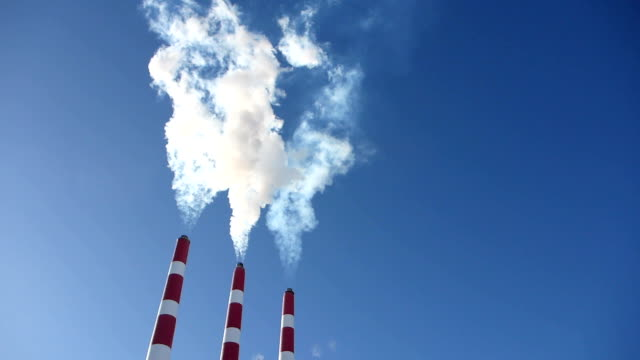 Power Plant Plumes video