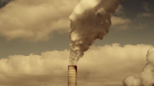 Power Plant Smoke video
