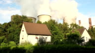 Power Station close to 2 houses video