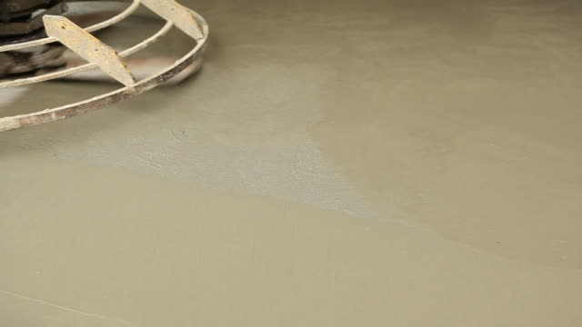 Power Trowel Smoothing Concrete Floor video