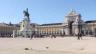 Praca do Comercio – Lisbon, Portugal video