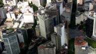 Praca Sete Square  - Aerial View - Minas Gerais, Belo Horizonte, Brazil video