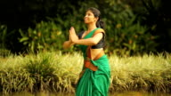 Practising Indian Dancer video