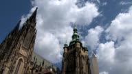 Prague Castle time lapse video