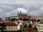 Prague Castle, Zoom In from Charles Bridge video