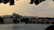 Prague cityscape video