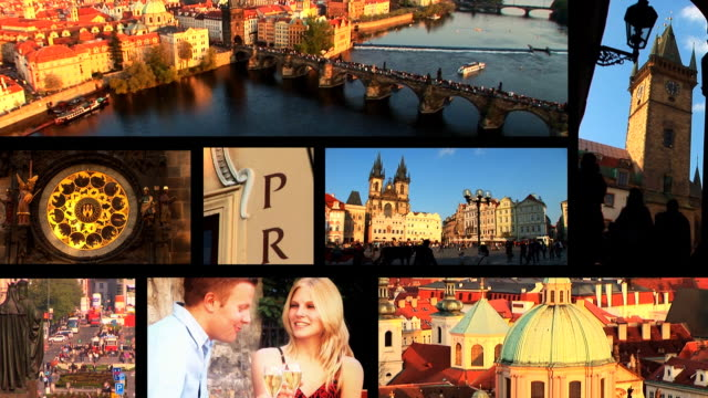 Prague destination montage video