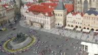 Prague Old Town Square Czech Republic video