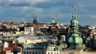 Prague Skyline video