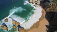 Praia da Ursa Beach in Sintra video