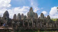 Prasat Bayon at Angkor Thom, Siem Reap Province, Cambodia video