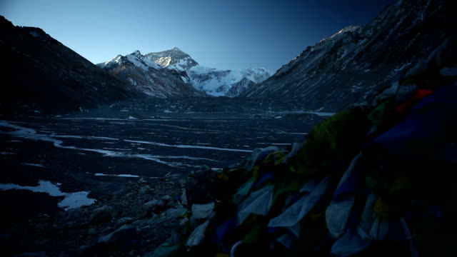 Prayer Flags at Everest Base Camp video