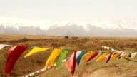 prayer flags. video
