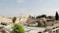 Praying at the Wailing Wall in Jerusalem video