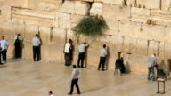Praying at the Western Wall video