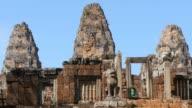 Pre Rup Cambodia Angkor Wat temple ancient ruin buildings complex video