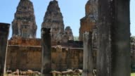 Pre Rup Cambodia Angkor Wat temple ancient ruin buildings monument video