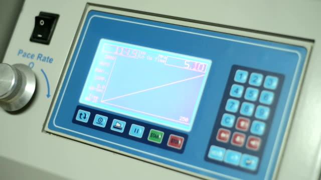 Preassure Test Machine Monitor video