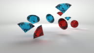 Precious Gems Falling video