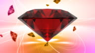 Precious Gems With Classy Background video