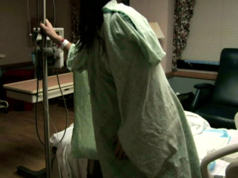 Pregnant Woman in Hospital 2 video