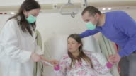Pregnant Woman in hospital video